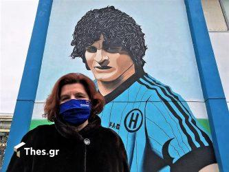 Στο γκράφιτι του Χατζηπαναγή η Ιωάννα Κοσμοπούλου (ΦΩΤΟ)