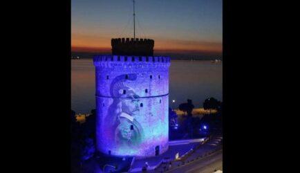 Ψεύτικη η φωτογραφία με τον Κολοκοτρώνη στον Λευκό Πύργο