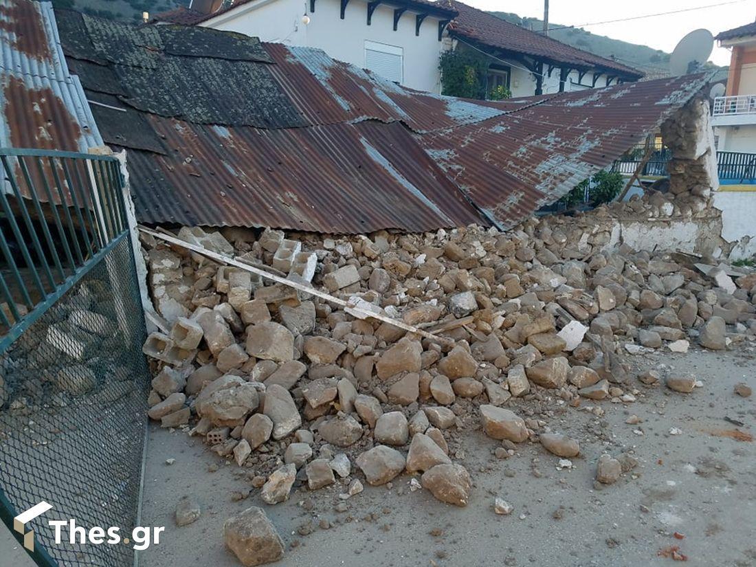 σεισμός ζημιές Δαμάσι Ελασσόνας Ελασσόνα Λάρισα