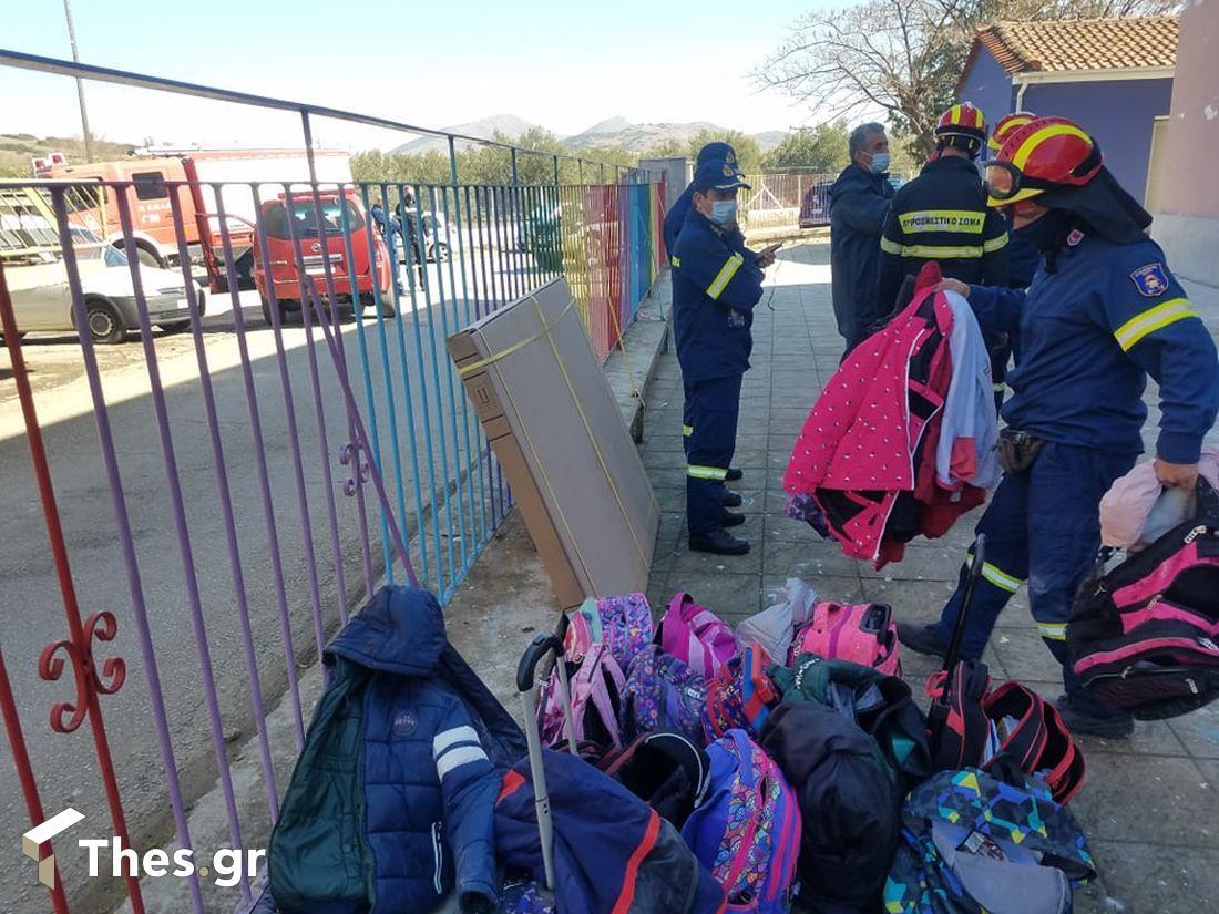 σεισμός Θεσσαλία σχολείο εμακ