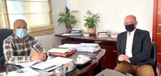 Συνάντηση του δημάρχου Δέλτα με τον εκπρόσωπο των νέων επενδυτών της ΕΛΒΟ