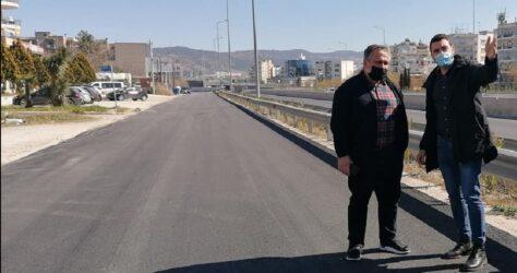 Δήμος Κορδελιού Ευόσμου: Εργα ανάπλασης σε δρόμο που παρουσίαζε προβλήματα εδώ και χρόνια