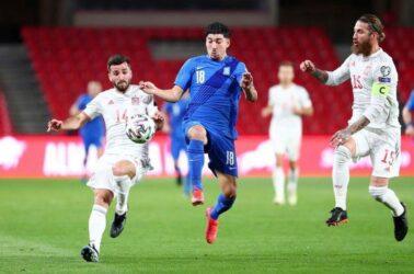Ανέλπιστος βαθμός για την Εθνική ομάδα – Στο 1-1 με την Ισπανία