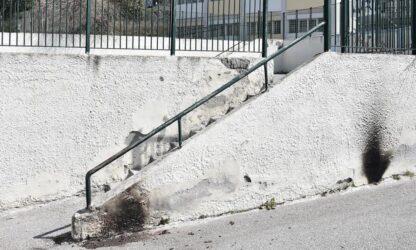 Θεσσαλονίκη: Πέταξαν μολότοφ σε δημοτικό σχολείο (ΦΩΤΟ)
