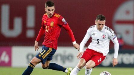 """Προκριματικά Μουντιάλ 2022: Γλίτωσε το """"έμφραγμα"""" η Ισπανία"""