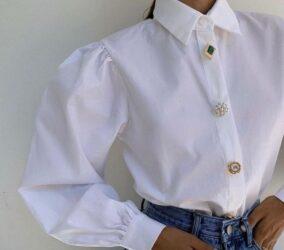 λευκό πουκάμισο γυναίκα