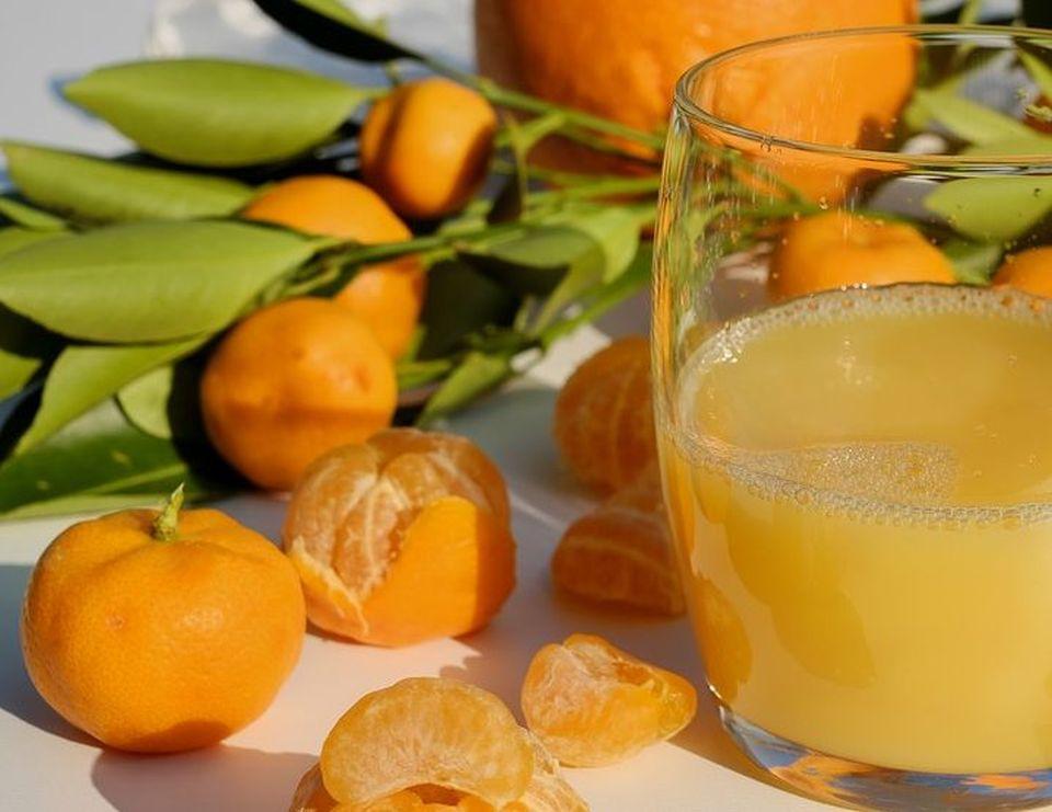 μανταρινάδα συνταγή χυμός μανταρίνια