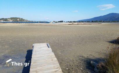 Απόκοσμο σκηνικό σε Σιθωνία και Σωζόπολη – Η θάλασσα εξαφανίστηκε… (ΦΩΤΟ)