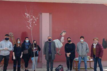 Γκράφιτι με ήρωες της Επανάστασης στο 3ο Νηπιαγωγείο και Δημοτικό Σχολείο Λαγκαδά