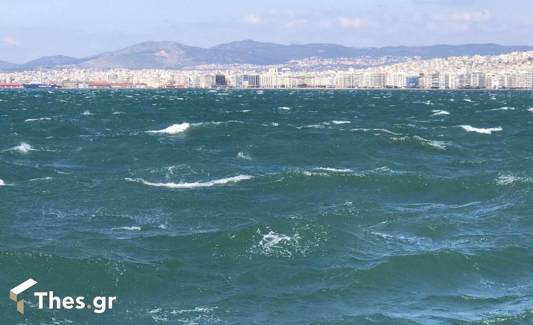 Θερμαϊκός Θεσσαλονίκη αέρας άνεμος καιρός