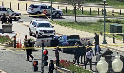 ΗΠΑ – Καπιτώλιο: Δύο νεκροί από την επίθεση με όχημα σε αστυνομικούς