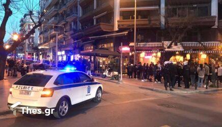 Θεσσαλονίκη: Επεισόδιο σε καφέ στην περιοχή της Χαριλάου