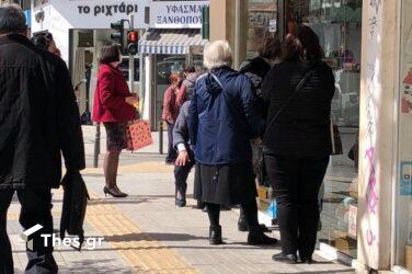 """Θεσσαλονίκη: """"Ανάσα"""" για το λιανεμπόριο – Κινείται και πάλι η αγορά (ΦΩΤΟ)"""