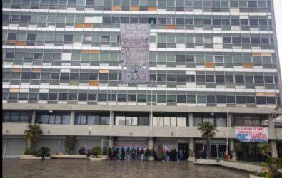 Θεσσαλονίκη: Εκ νέου κατάληψη της Πρυτανείας του ΑΠΘ (ΦΩΤΟ)