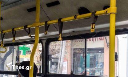 Απογοητευτική η εικόνα σε υπό διάλυση λεωφορεία του ΟΑΣΘ (ΦΩΤΟ)