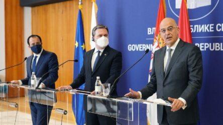 Στη Θεσσαλονίκη η επόμενη τριμερής συνάντηση Ελλάδας – Κύπρου – Σερβίας