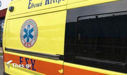 Ηλεία ΕΚΑΒ ασθενοφορο Θεσσαλονίκη νεκρός