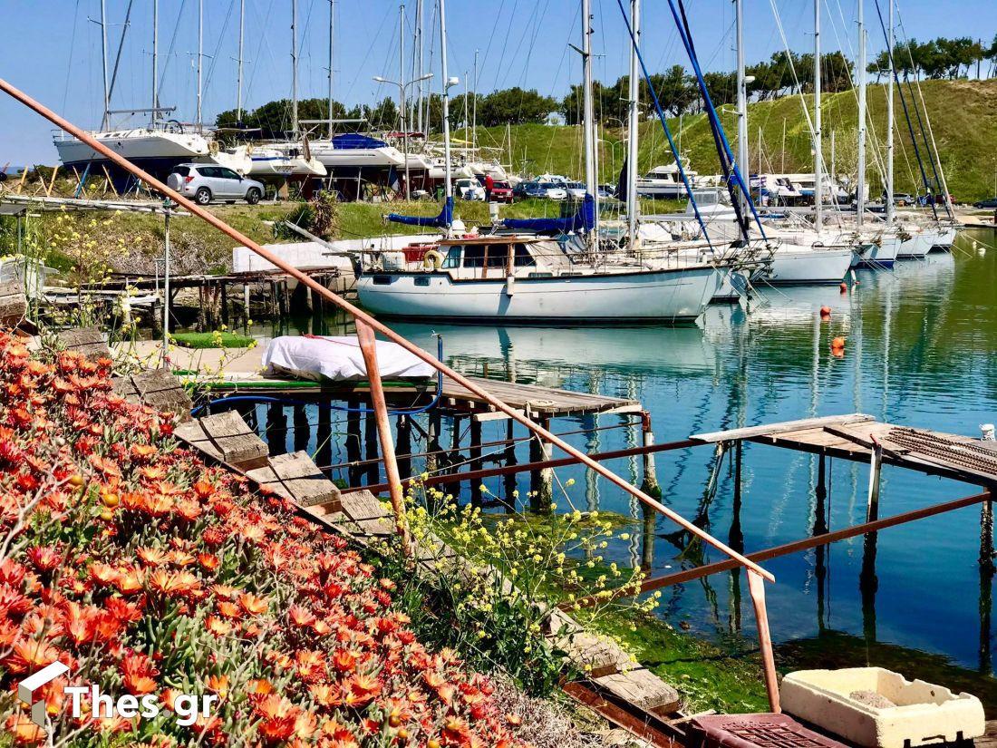 Θεσσαλονίκη βόλτα Ναυτικός Ομιλος Καλαμαριάς