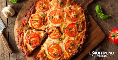 πίτσα συνταγή ΕβΛΟΓΗΜΕΝΟ