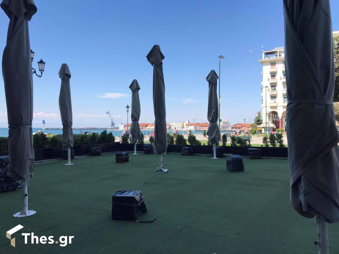 Θεσσαλονίκη πλατεία Αριστοτέλους καφέ εστίαση