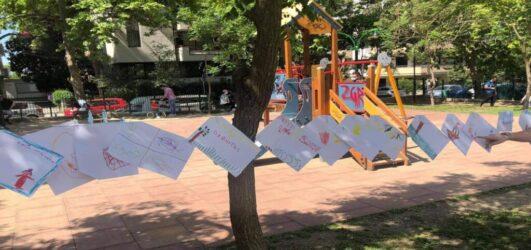 Καλαμαριά: Τα παιδιά ομόρφυναν το Πάρκο Κερασούντος