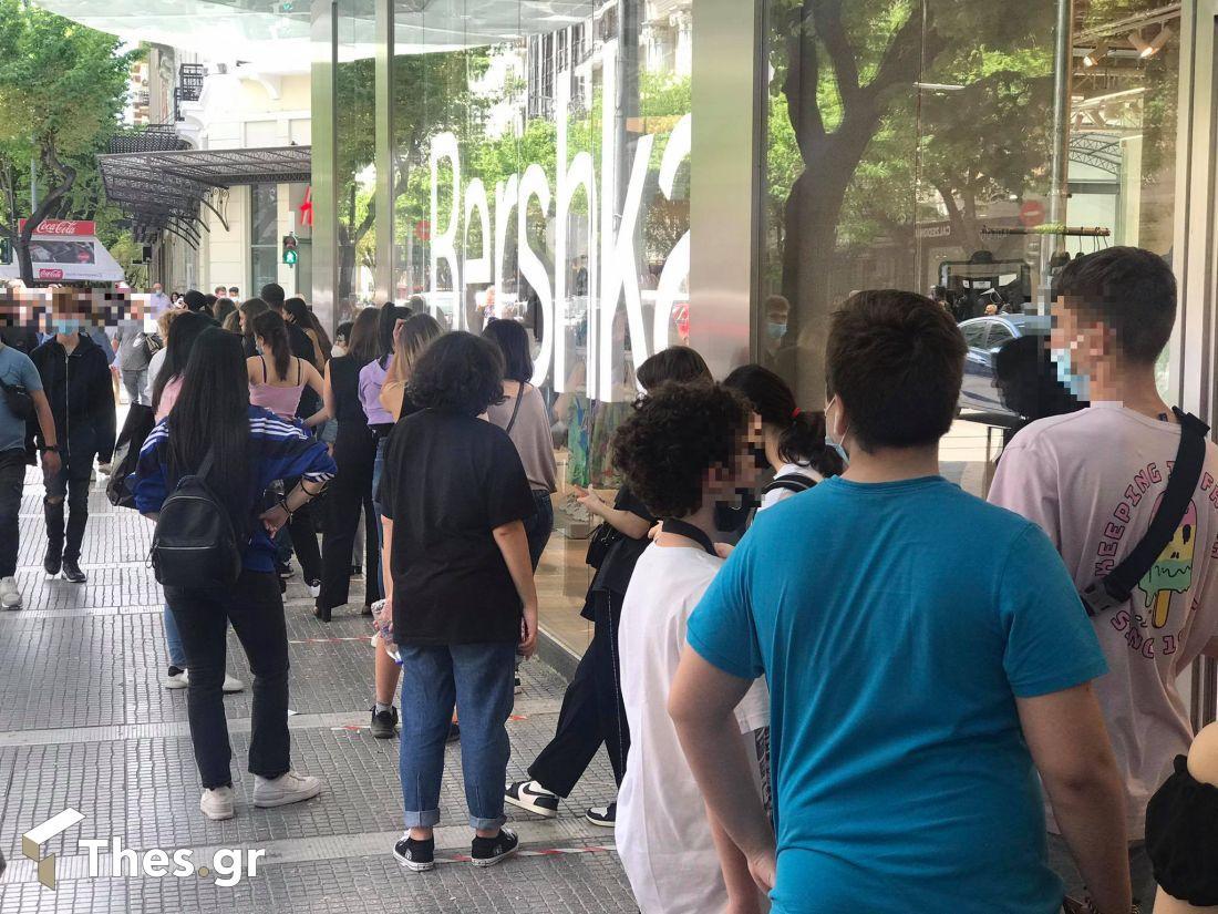 Θεσσαλονίκη αγορά ψώνια μέτρα Ανοικτά καταστήματα Κυριακή