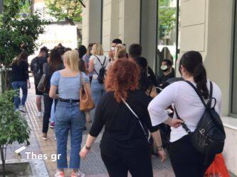 Θεσσαλονίκη αγορά ψώνια μέτρα ενδιάμεσες εκπτώσεις