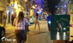 Η ιστορία πίσω από τη γυναίκα που έβγαλε τα ρούχα της στην Θεσσαλονίκη (ΦΩΤΟ)