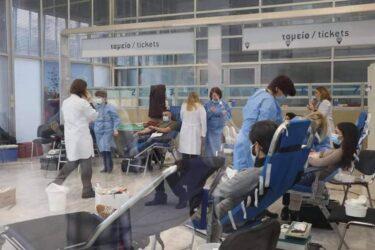 Θεσσαλονίκη: Εκτακτη αιμοδοσία στο χώρο της ΔΕΘ