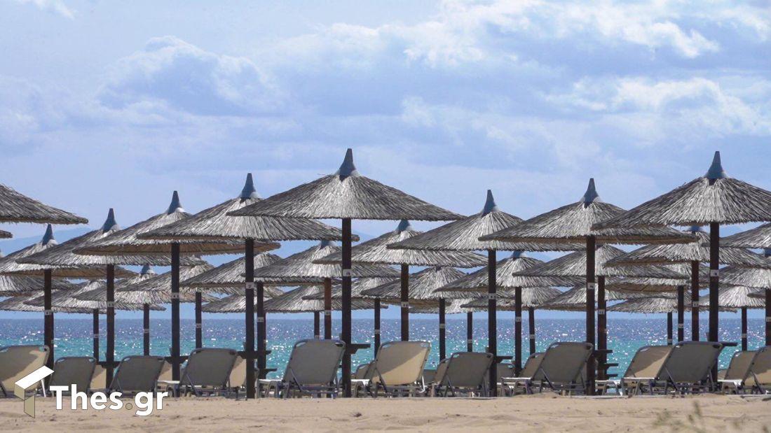 παραλία θάλασσα Χαλκιδική ΟΑΕΔ