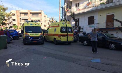 Θεσσαλονίκη: Τραυματισμός άνδρα που έπεσε από μπαλκόνι