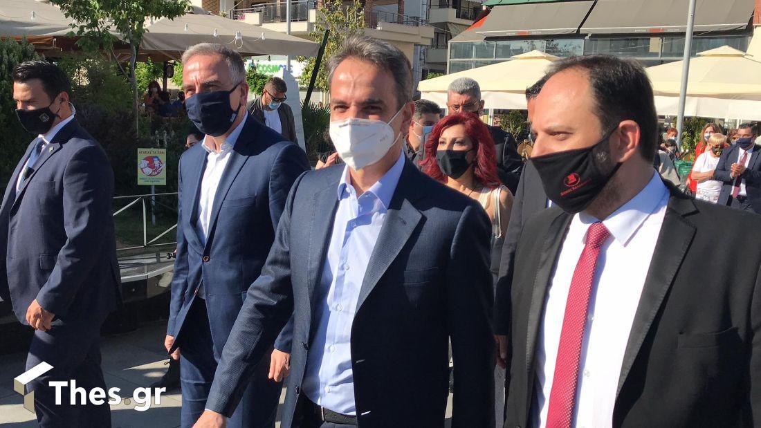 Πρωθυπουργός Κυριάκος Μητσοτάκης Καλαμαριά