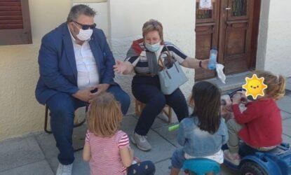 Σε παιδικούς σταθμούς του δήμου Θεσσαλονίκης ο Κωνσταντίνος Ιακώβου (ΦΩΤΟ)
