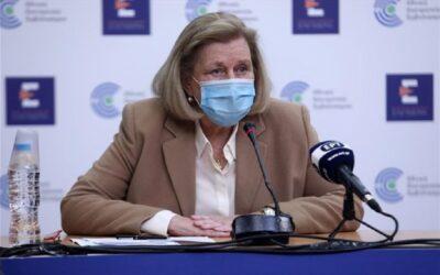 Θεοδωρίδου: «Αυτοί πρέπει να κάνουν τρίτη δόση εμβολίου αρχές Σεπτεμβρίου»