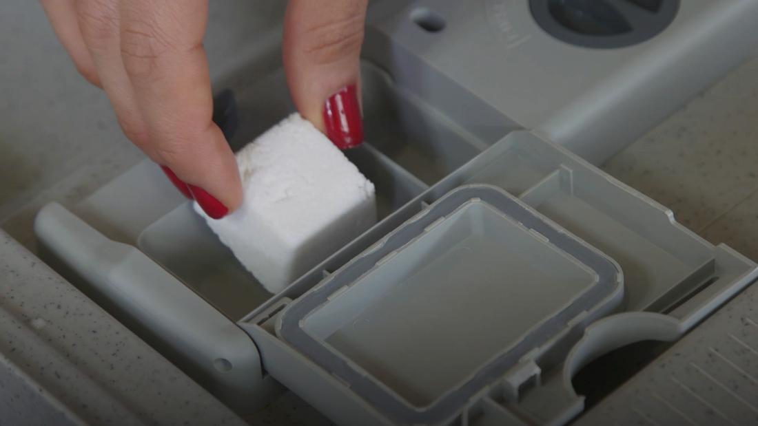 DIY ταμπλέτες για πλυντήριο πιάτων