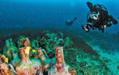 Αλόννησος υποβρύχιο μουσείο