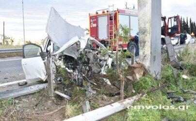 Τραγωδία στην Ημαθία: 49χρονος νεκρός σε τροχαίο (ΦΩΤΟ)