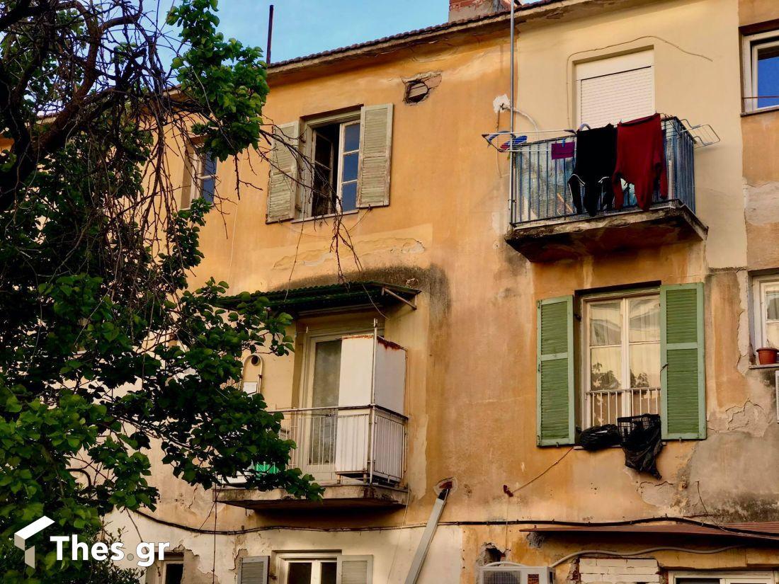 βομβόπληκτα σπίτια Κάτω Τούμπα Θεσσαλονίκη