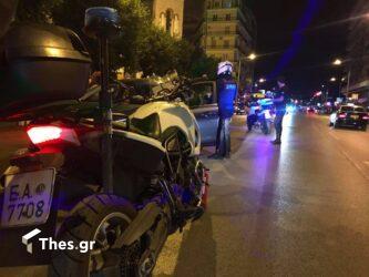 Θεσσαλονίκη: Τρελή πορεία ΙΧ στη Λεωφόρο Νίκης – Ευτυχώς δεν περνούσε κόσμος (ΦΩΤΟ)