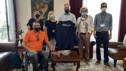 Συναντήσεις αντιπροσωπείας της ΕΑΟΜ – ΑμεΑ με Καλαφάτη και Πατουλίδου