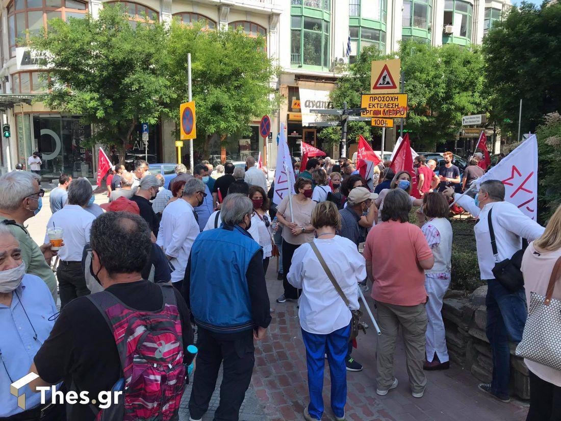 Θεσσαλονίκη συγκέντρωση πορεία απεργία