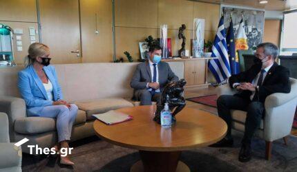 """Συνάντηση Ζέρβα με Θεοχάρη – """"Σημαντική η Θεσσαλονίκη για τον τουρισμό (ΒΙΝΤΕΟ & ΦΩΤΟ)"""