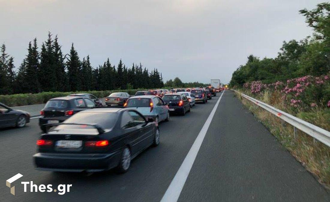 Οδός κίνηση ατύχημα Θεσσαλονίκη