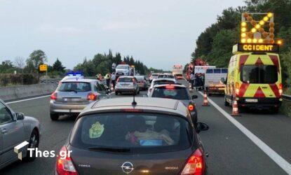 Θεσσαλονίκη: Καραμπόλα με πολλά οχήματα στη Μουδανιών – Ενας τραυματίας