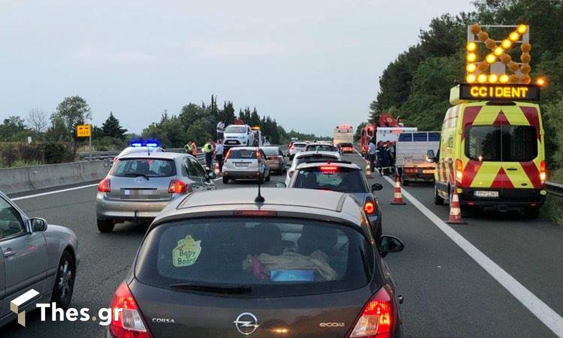 κίνηση ατύχημα Θεσσαλονίκη