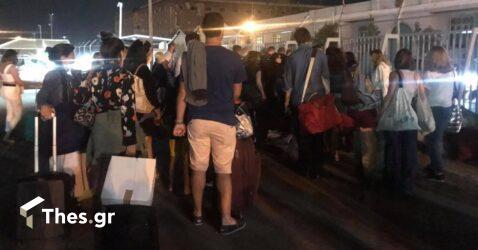 Για υπεράριθμους επιβάτες συνελήφθη ο πλοίαρχος του Σκιάθος – Θεσσαλονίκη (ΒΙΝΤΕΟ & ΦΩΤΟ)