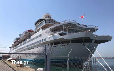 «Celestyal Olympia»: Στη Θεσσαλονίκη για λίγες ώρες οι επιβάτες του κρουαζιερόπλοιου