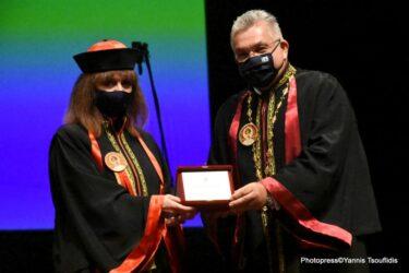 Επίτιμη Διδάκτορας της Νομικής Σχολής του ΑΠΘ αναγορεύτηκε η Κατερίνα Σακελλαροπούλου (ΦΩΤΟ)