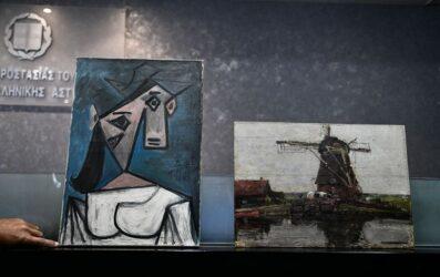 Επέστρεψαν οι δύο κλεμμένοι πίνακες στην Εθνική Πινακοθήκη