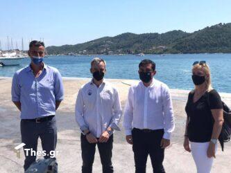 Ζέρβας – Τζούμας: Eνώνουν δυνάμεις για την ακτοπλοϊκή σύνδεση Θεσσαλονίκης – Σκιάθου